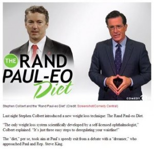 Rand Paul destroys his only asset, his supposed intellectual Integrity.  Updated