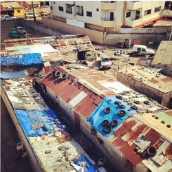 Rooftops in Canakry Guinea