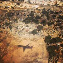 Flying into Dakar Senegal