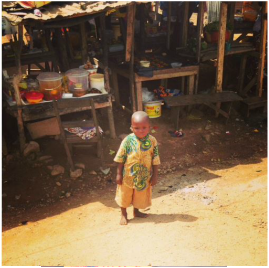 Cute Toddler in Guinea