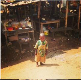 Cute Toddler in Guinea