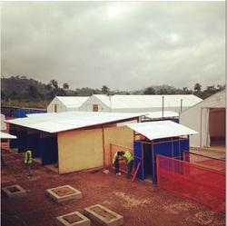 Treatment Center Ebola Guinea