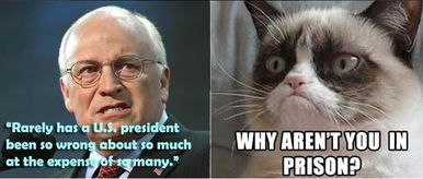 Dick Cheney Criminal
