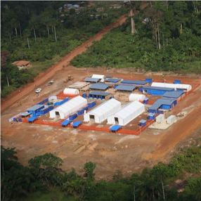 Ebola Treatment Center Guinea
