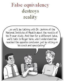 False Equivalency Destroys Reality