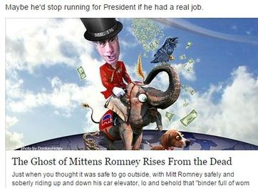 The Ghost of Mitt Romney Rises