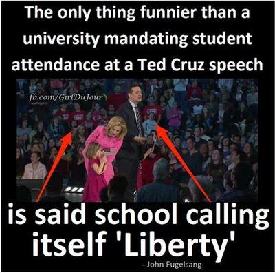 Liberty College Ted Cruz