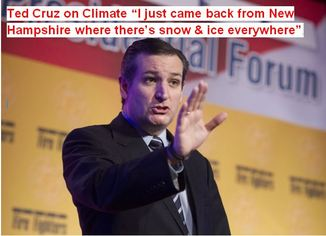 Ted Cruz Climate Change Denier