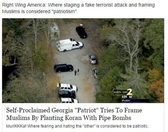 Christian Domestic Terrorist