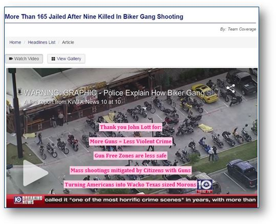 Biker Gang Shooting