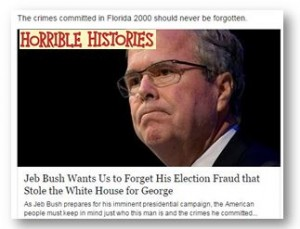 Jeb Bush Election Fraud 2000