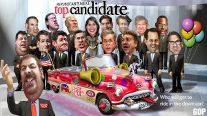 The Fox News Republican Debate: One Red Clown Nose Away from an Actual Circus
