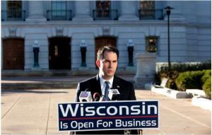 Scott Walker – Wisconsin Voters Decide to Slit their Throats