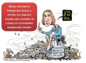 Carly Fiorina – Face to Face with the biggest loser.