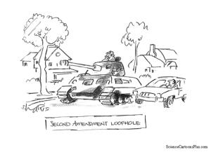 The Irrelevant Second Amendment Argument
