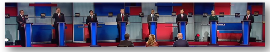 "Donald Trump's wild ""pants-on-fire"" lies are accepted by the rest of the Stupidparty candidates without any refutation"