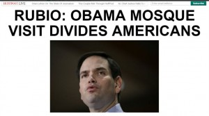 Who is the better recruiting tool for terrorists? Obama, or Rubio?