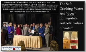 Why Governor Snyder is Likely 100% Responsible for the Flint Fiasco and What Was He Really Up To?