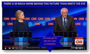 Hillary V Bernie: Flags, Pins, Money and Fashion Things!