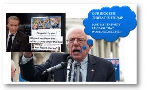 Sanders Derangement Syndrome, the Liberal Tea Party, & How Nevada Riot Pretty Much Sums Up Team Bernie: Sandernista Political Terrorism II