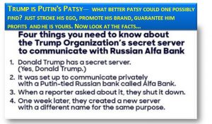 Putin's Patsy—Trump is an easy Mark, His Fans Even Easier