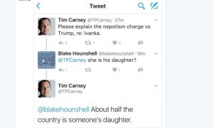 Trump's Jong-un's Awesome Advocate, Stupidpartyland Citizen Tim Carney—Here is the Definition of Stupid