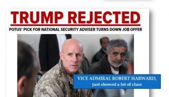 New Patriotism: Unprecedented—Vice Admiral Refuses to Serve Hair Twitler