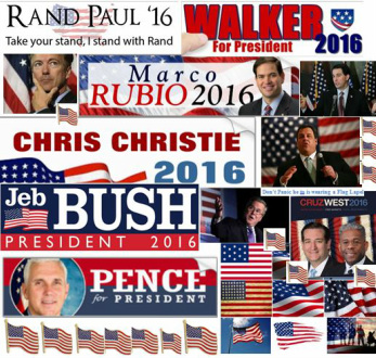 2016 Republican Bumper Stickers