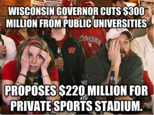 Publically Funded Sports Stadium Memes