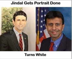 Jindal White Portrait