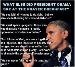 Obama Prayer Breakfast