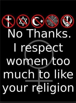 Respect for Women Without Religion