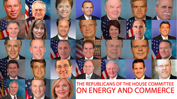 Republicans on House Committee On Energy and Commerce