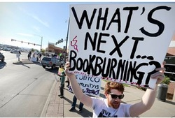What's Next Book Burning