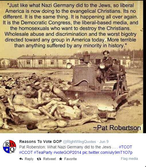 Pat Robertson: Liberal Holocaust