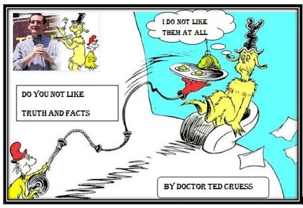 Ted Cruz Green Eggs and Ham
