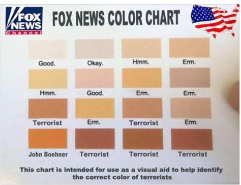 Roger AIles Skin Preference Chart