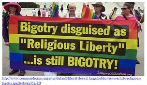 Bigotry Disguised as Religious Liberty