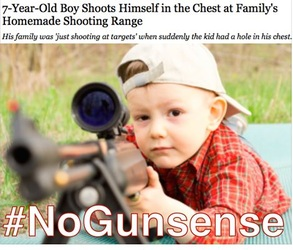 7-Year-Old Boy Shoots Himself in the Chest