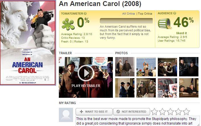 An American Carol Flop