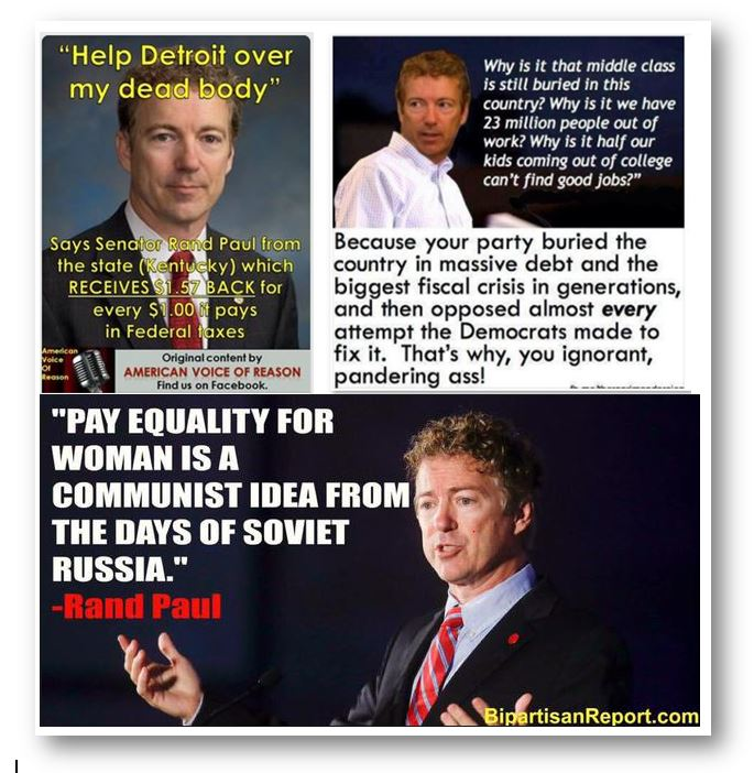 Rand Paul on Detroit Pay Equality Middle Class