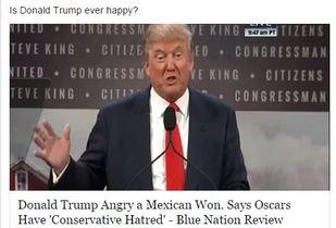 Trumps Oscars Have Conservative Hatred