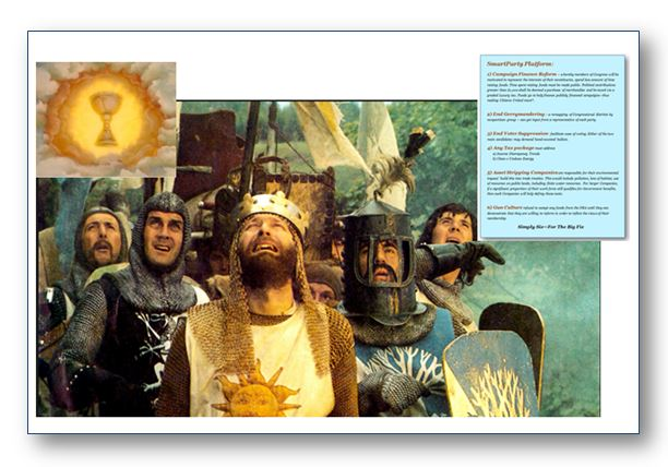 THe Holy Grail is the SmartParty agenda!