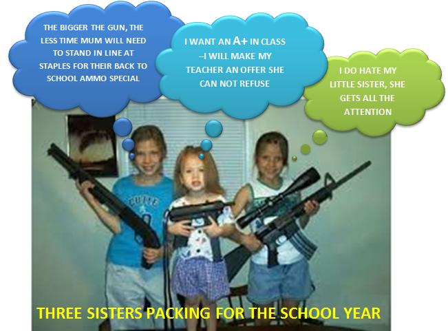 America's children: raised in the NRA's doctrine of anti gun control