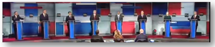 """Donald Trump's wild """"pants-on-fire"""" lies are accepted by the rest of the Stupidparty candidates without any refutation"""